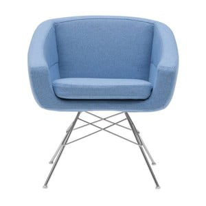 Jasnoniebieski fotel Softline Aiko