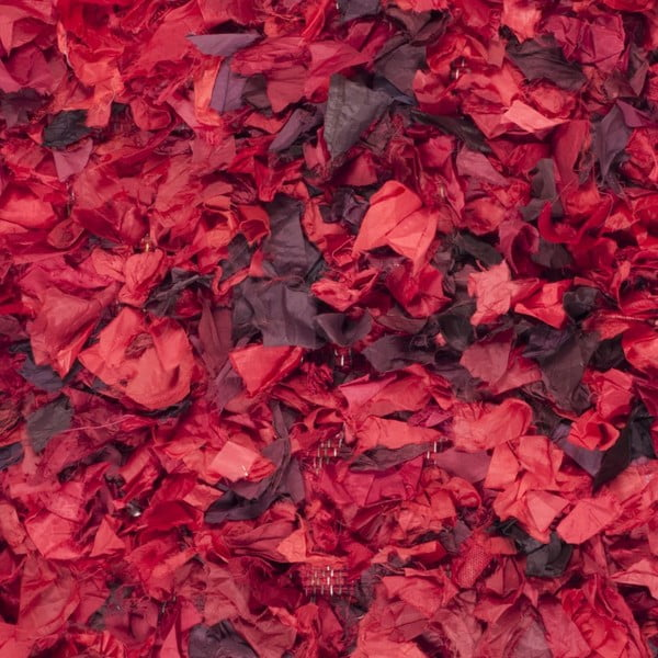 Dywan Penelope Shag Red, 121x182 cm