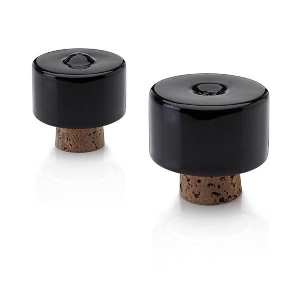Solniczka i pieprzniczka Shakers Black