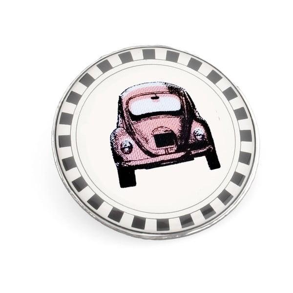Broszka Różowe auto Lucie Marková