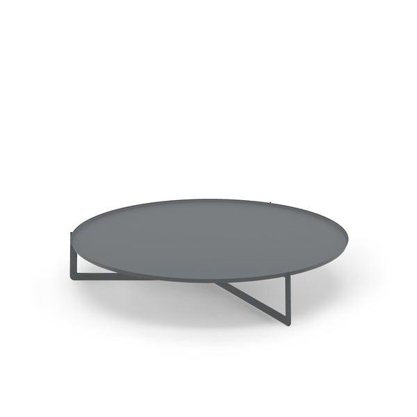 Szary stolik MEME Design Round, Ø120cm