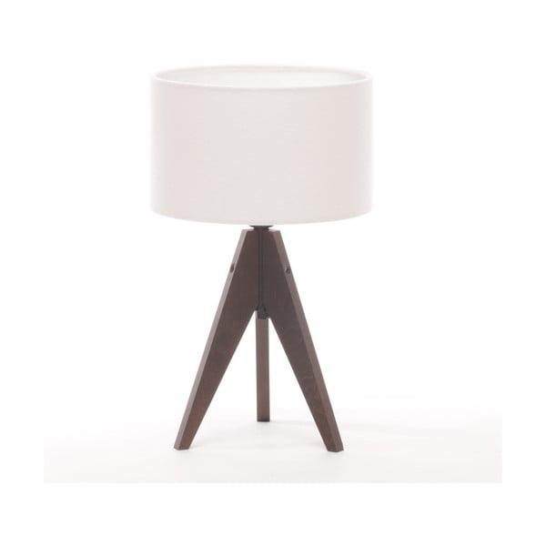 Lampa stołowa Artist Arist Cylinder White/Brown
