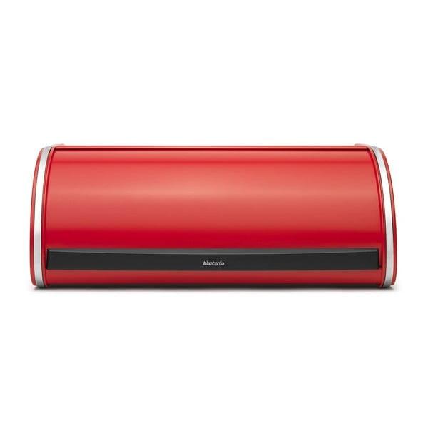 Czerwony pojemnik na chleb Brabantia Roll Top