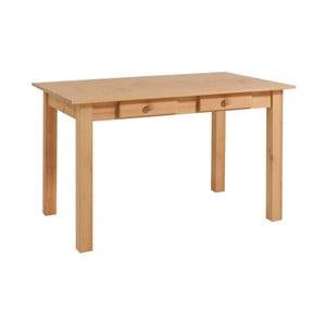 Stół z drewna sosnowego Støraa Jamie, 80x120cm