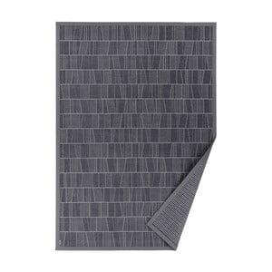 Szary dywan dwustronny Narma Kursi, 70x140 cm
