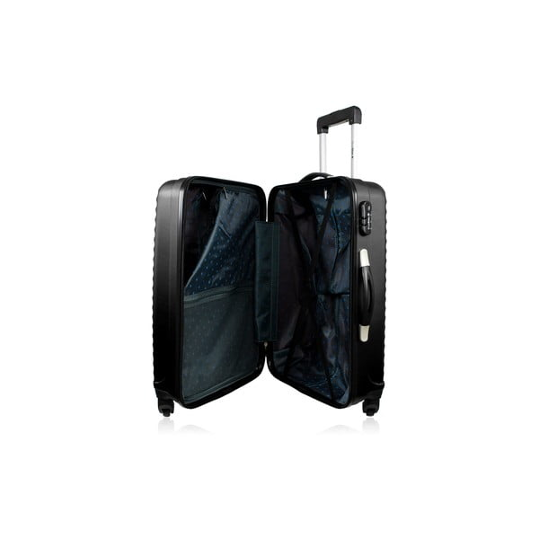 Zestaw 3 walizek Linn, czarne