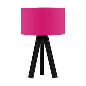 Lampa stołowa z różowym abażurem Kate Louise Blackie