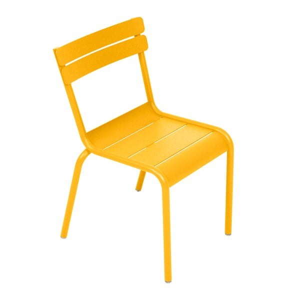 Żółte krzesło dziecięce Fermob Luxembourg