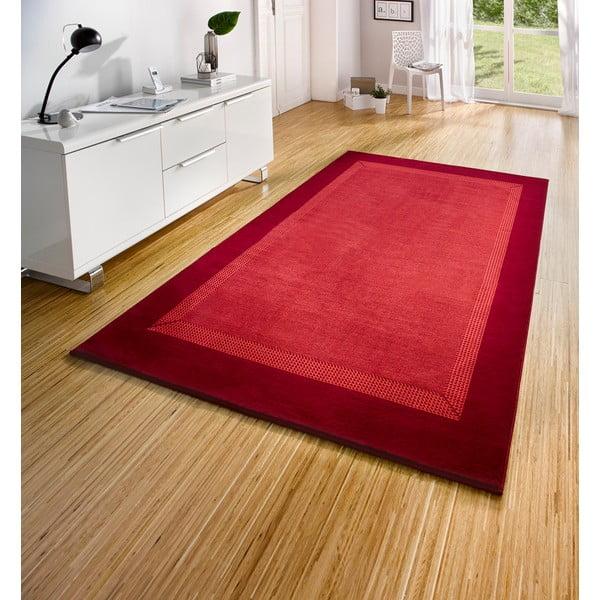 Dywan Basic, 120x170 cm, czerwony