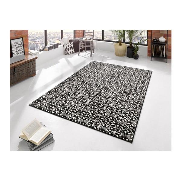 Czarny dywan Hanse Home Gloria Pattern, 80x150 cm