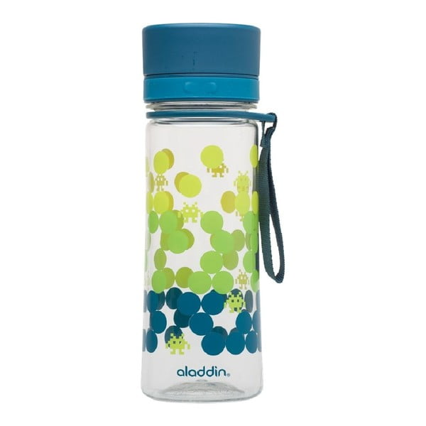 Butelka na wodę Aveo 350 ml, niebiesko-zielona