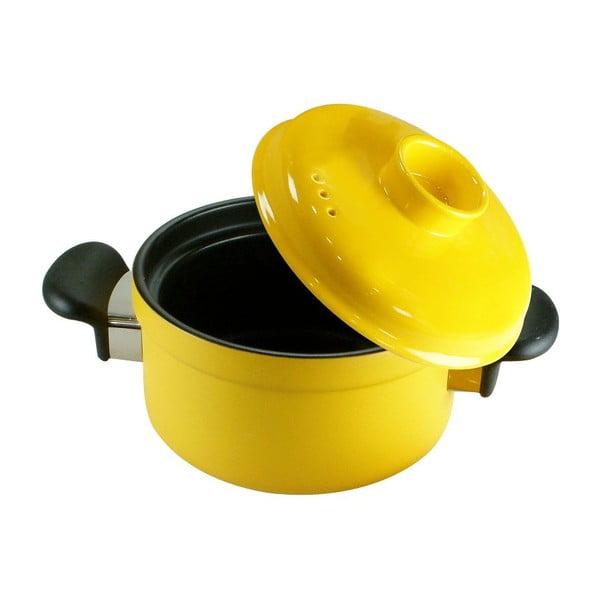 Garnek z pokrywką Yellow Pot