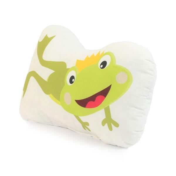 Poduszka bawełniana Mr. Fox Happy Frogs, 40x30 cm