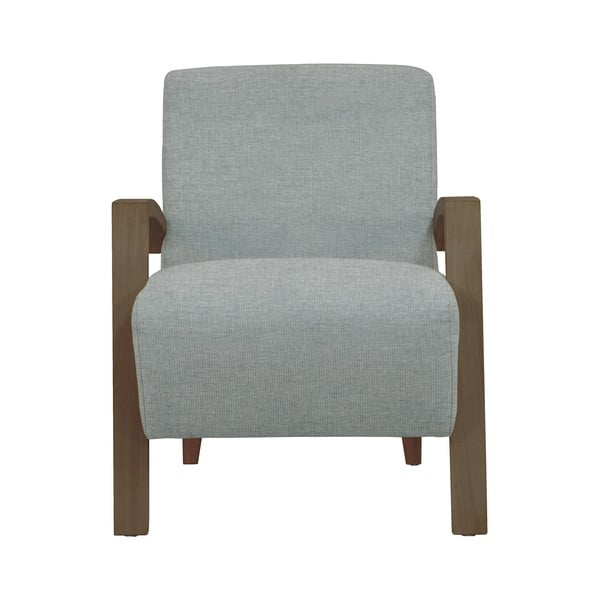 Jasnoszary fotel Windsor & Co Sofas Luna