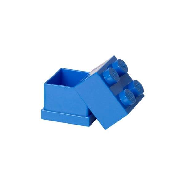Niebieski pojemnik LEGO® Mini Box