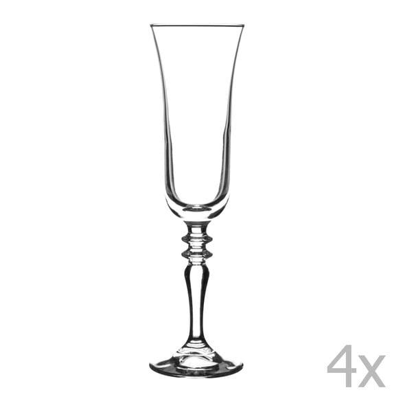 Zestaw 4 lampek na wino Avalon, 220 ml