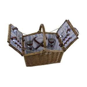 Kosz piknikowy z wyposażeniem dla 2 osób Ego Dekor Picnic Paddy