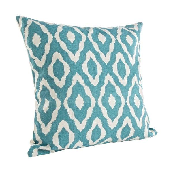Poduszka Alanis, niebieska