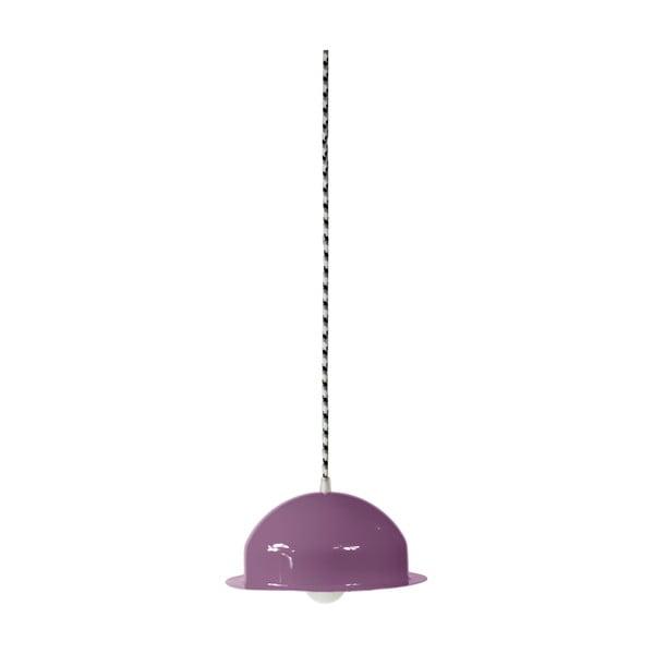 Lampa sufitowa Steel Pendant, fioletowa