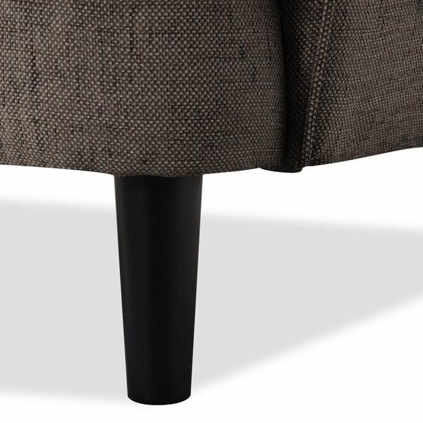 Brązowa sofa 3-osobowa Vivonita Fifties