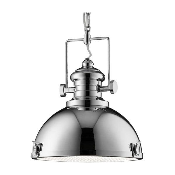 Lampa wisząca Searchlight Industrial, chromowana