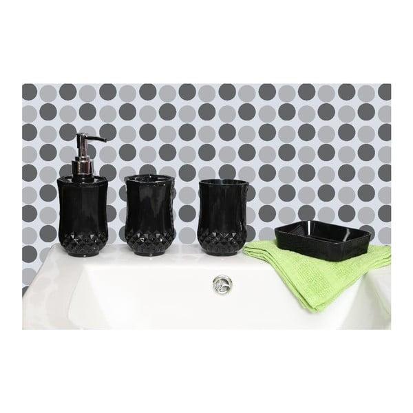 Zestaw łazienkowy Cristallo Black