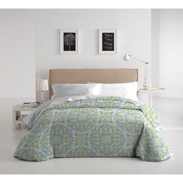 Zestaw pościeli i 2 poduszek Romeria Verde, 240x220 cm