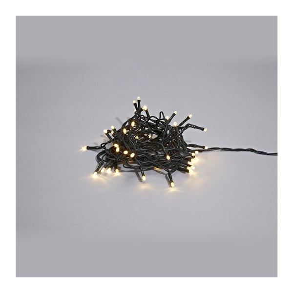 Czarna girlanda świetlna LED Markslöjd Sken Black, 80 lampek