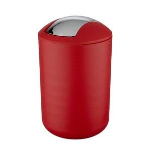 Czerwony kosz na śmieci Wenko Swing Red L