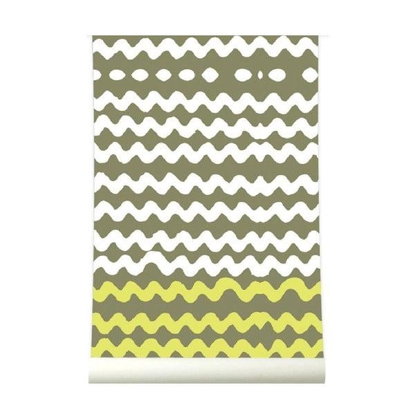 Tapeta High Tide Lemongreen