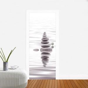 Naklejka na drzwi Zen