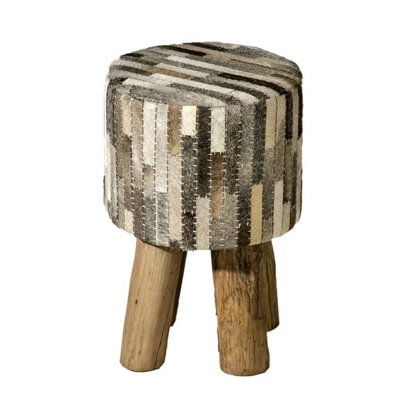 Taboret Colo Patch Hocker Grey