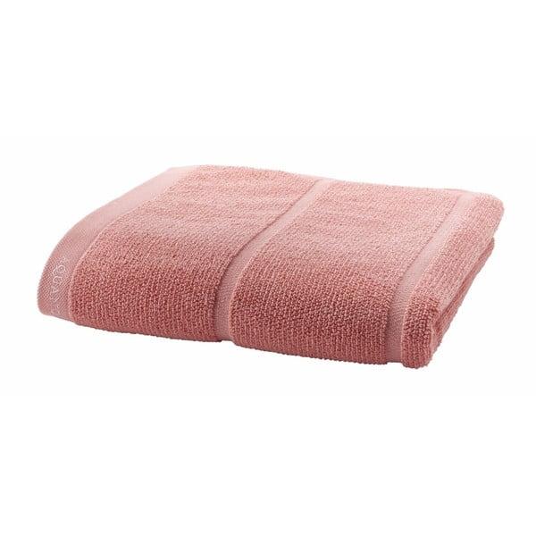 Pudrowo-różowy ręcznik Aquanova Adagio, 70x130 cm