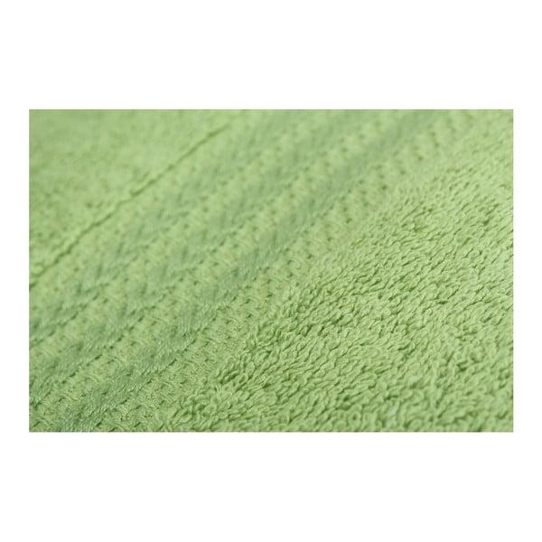 Zestaw 4 zielonych ręczników Rainbow Garden, 50x90cm