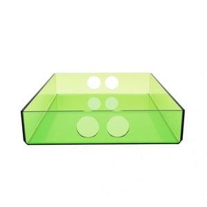 Taca Tray Green, 22x31 cm