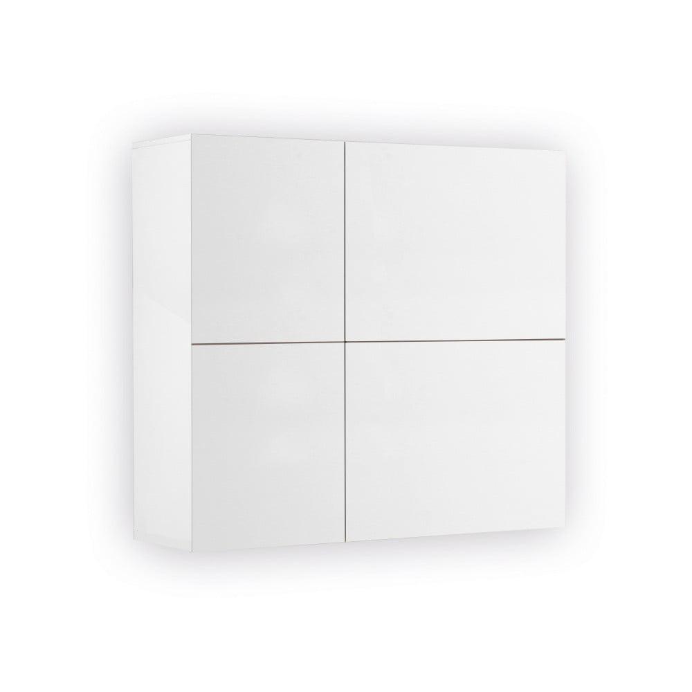 Biała 2-drzwiowa szafka wisząca Jitona Mamma