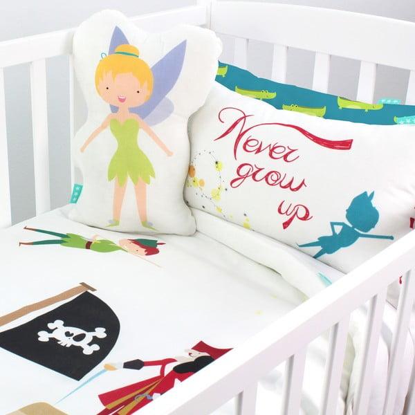 Bawełniana pościel dziecięca z poszewką na poduszkę Mr. Fox Peter, 115x145 cm