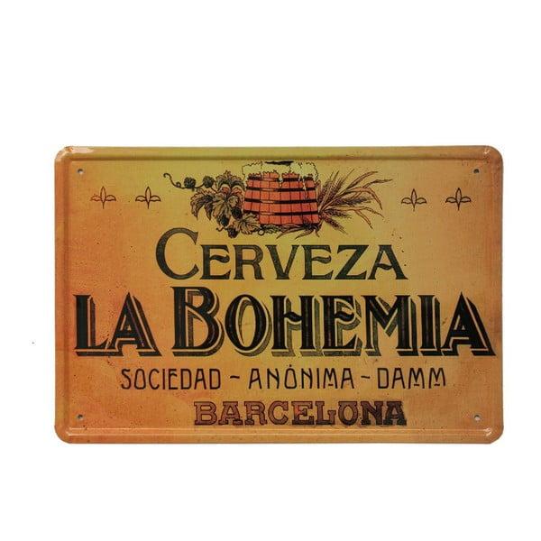 Tablica La Bohemia, 20x30 cm