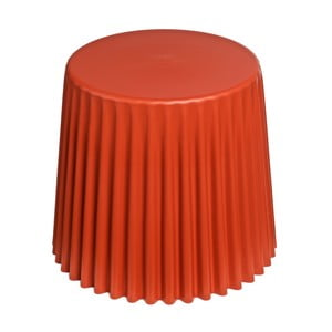 Stołek D2 Cork, pomarańczowy