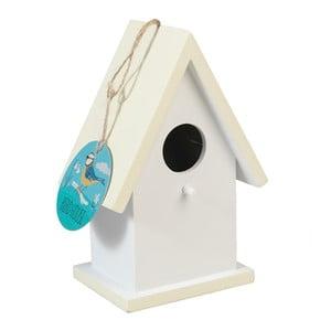 Kremowa budka dla ptaków z drewna Rex London Faros