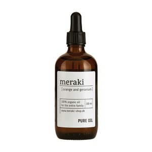 Organiczny olej Meraki Orange and Geranium, 100 ml