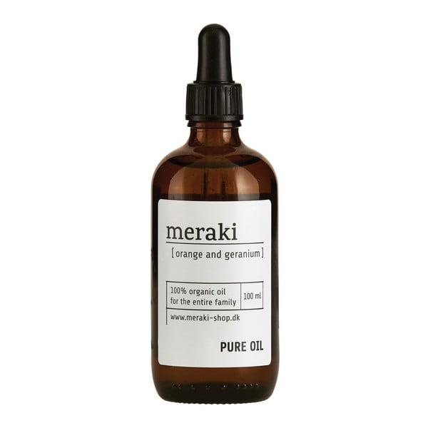 Olejek organiczny Meraki Orange and Geranium, 100ml