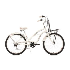 Rower Beachcruiser Cargo White, 26""