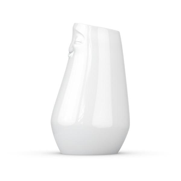 Biały zadowolony wazon z porcelany 58products