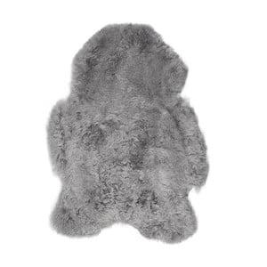 Szara skóra owcza z krótkim włosiem, 100x60 cm
