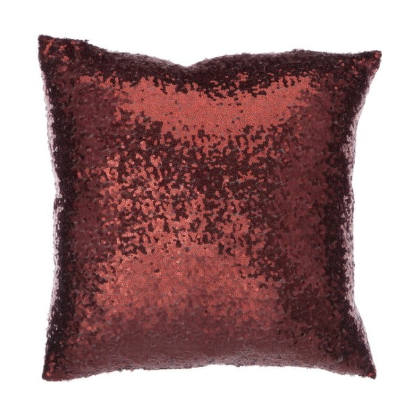 Czerwona błyszcząca poduszka J-Line
