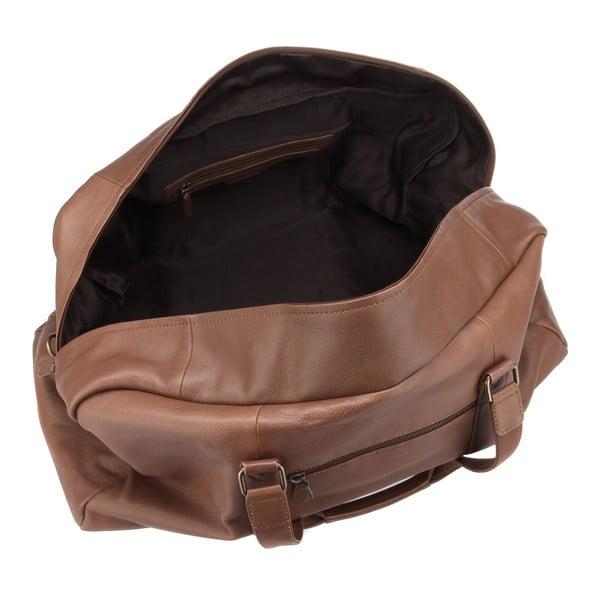 Skórzana torba męska Cargo Chestnut