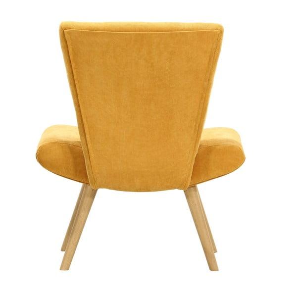 Żółty   fotel Wintech Max
