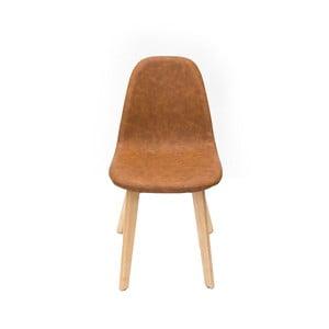 Jasnobrązowe krzesło LABEL51 Urban