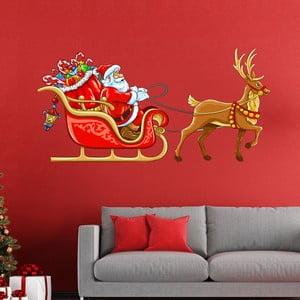 Naklejka świąteczna Fanastick Noel Sur Son Traineau